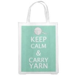 Keep Calm Carry Yarn