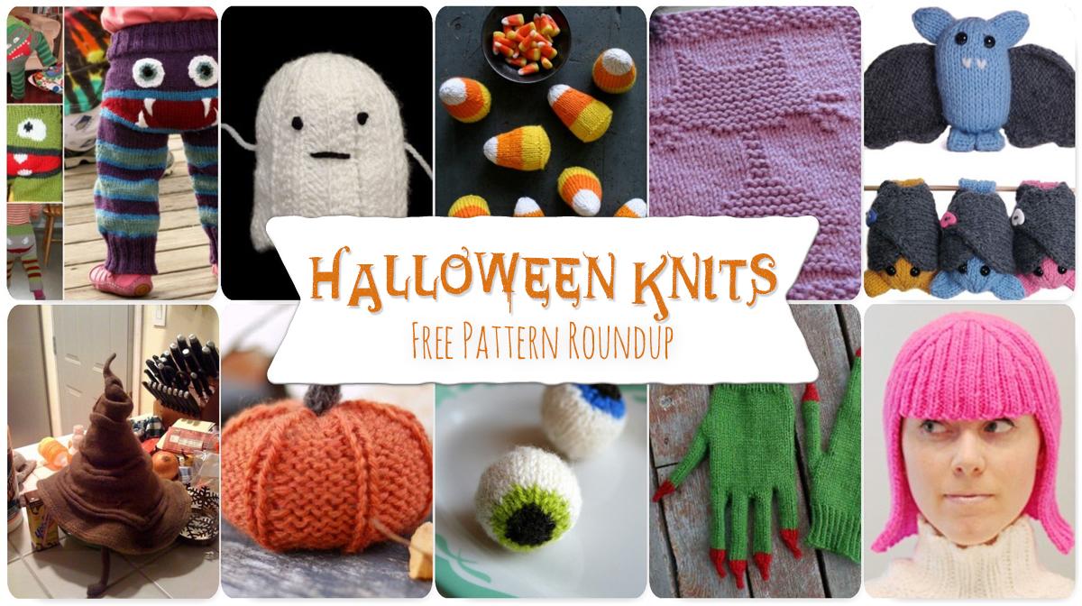 Fall Pattern Roundup: Halloween Knits – FibreandFabrics Crafts Blog