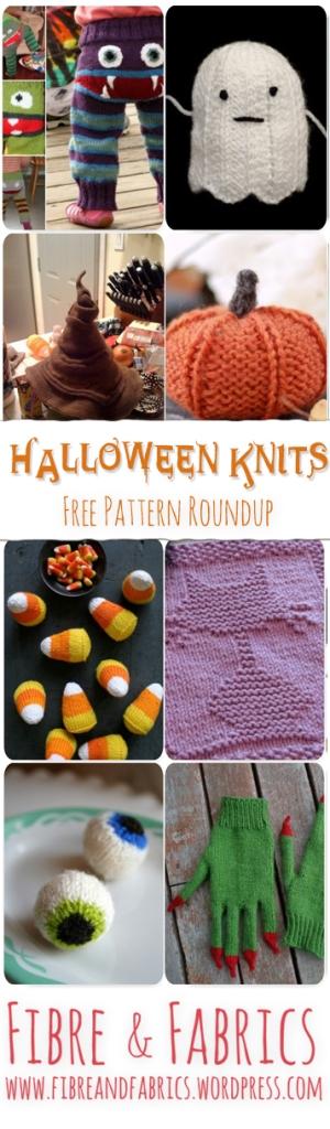 Halloween Knits FREE Pattern Roundup - Fibreandfabrics Blog -- http://wp.me/p4kypa-z7