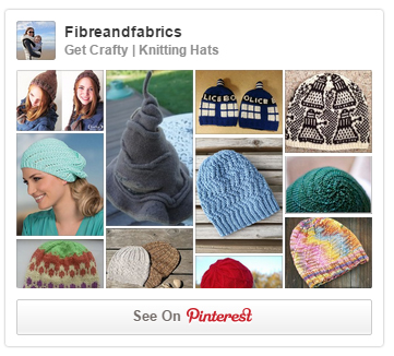 @Fibreandfabrics - Pinterest - Knitting Hats