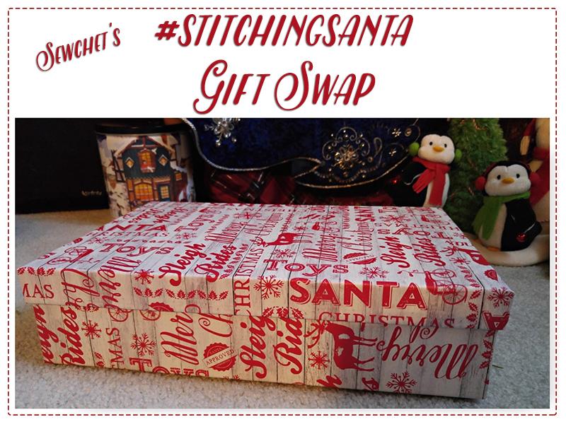 #stitchingsanta gift swap 2015 | @fibreandfabrics blog