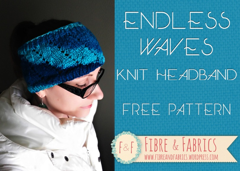 Endless Waves - Free #knitting pattern on @fibreandfabrics blog
