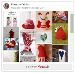 Get Crafty | #Knit for Valentine's Day Pinterest board @fibreandfabrics