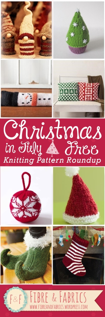 Christmas in July • Free #knitting pattern roundup on @fibreandfabrics blog