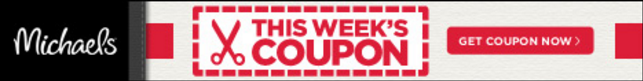 Check out this weeks Michael's coupon & save on crafts & yarn!
