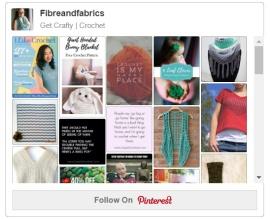Visit Fibreandfabrics on Pinterest for more free patterns & crochet pinspiration! #crochet #fibreandfabrics