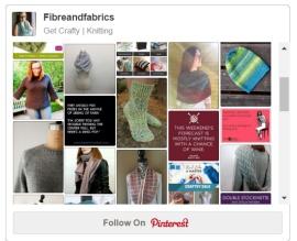 Visit Fibreandfabrics on Pinterest for more free patterns & knitting pinspiration! #knitting #fibreandfabrics
