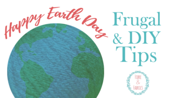 Fibreandfabrics Crafts Blog • Happy Earth Day - Frugal & #DIY tips to reduce your carbon footprint! #plarn #recycle #fibreandfabrics @fibreandfabrics Craft Blog