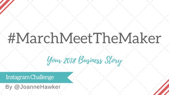#MarchMeetTheMaker Challenge 2018 Join the fun with me @ginahoardsyarn