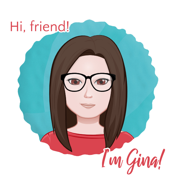 Hi, friend! I'm Gina. Welcome to my craft blog.